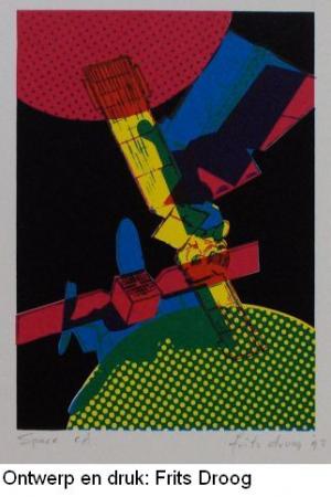 Frits Droog, Space (ontwerp boekomslag)