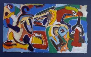 Frits Droog, Animals Acryl 03