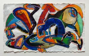 Frits Droog, Animals Acryl 05