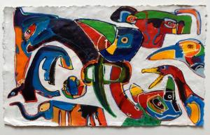Frits Droog, Animals Acryl 06