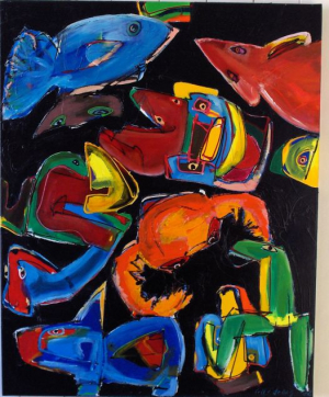 Frits Droog, Aquarium by Night